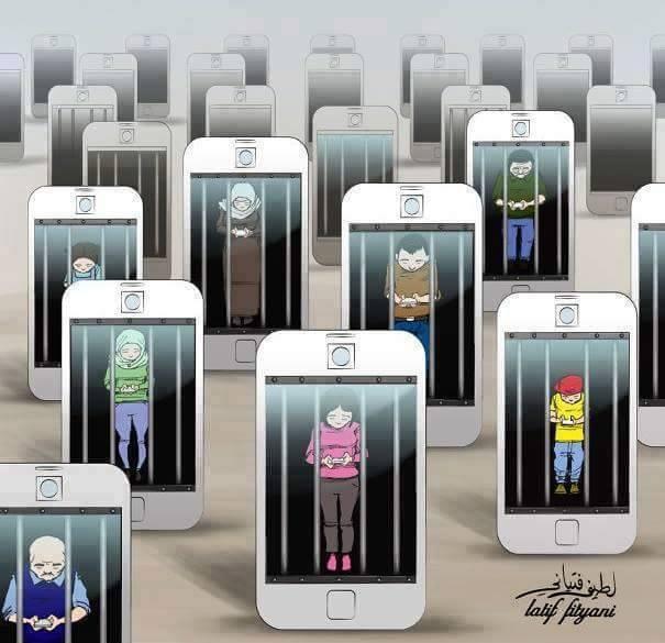 A rendição ao celular
