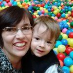 Mirella Moro e seu filho Samuel