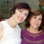 Mirella Moro e sua mãe Eunice