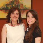 Thais Batista e sua filha Cristina