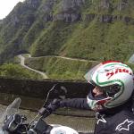 Viagem de moto com sua esposa em outubro de 2016