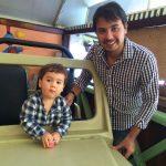 Renato e o filho Victor