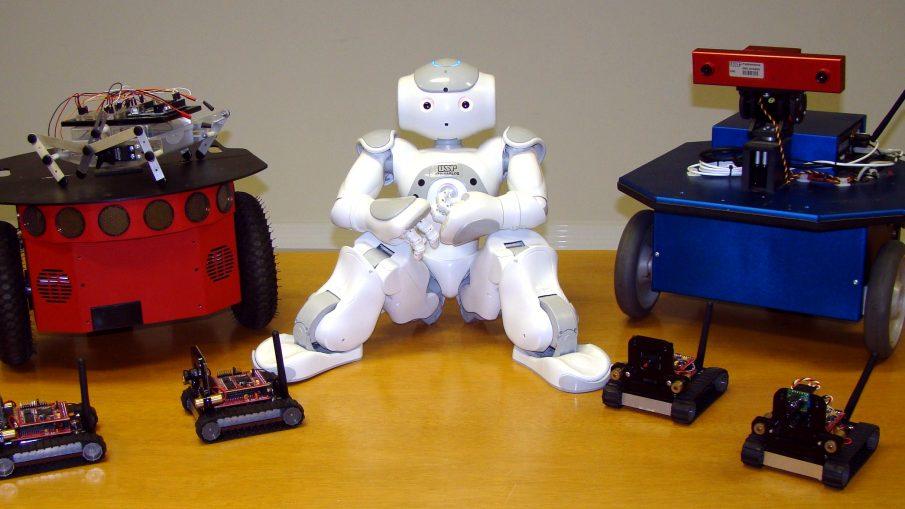 Os robôs estão cada vez mais presentes no nosso dia-a-dia