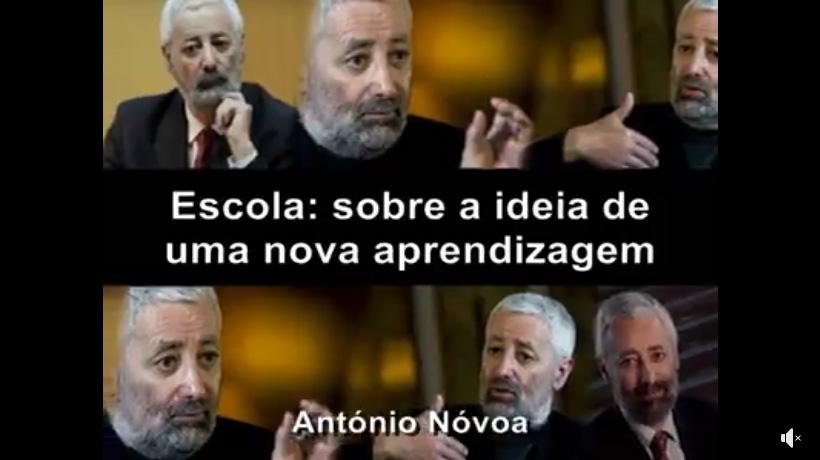 Ideário pedagógico (António Nóvoa)