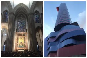 Catedral Metropolitana de São Paulo e Instituto Tomie Ohtake, São Paulo
