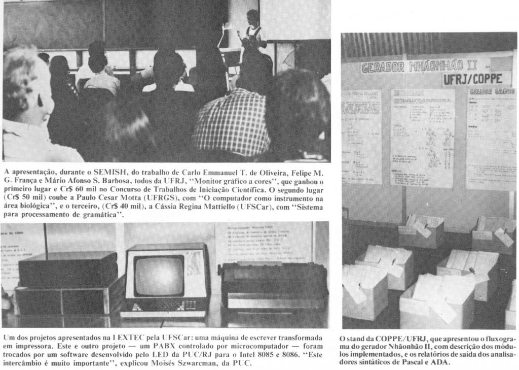 fotos do segundo CSBC realizado em 1982