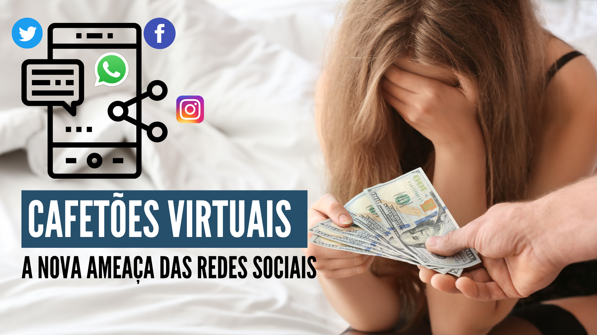 Cafetões virtuais: A nova ameaça das redes sociais