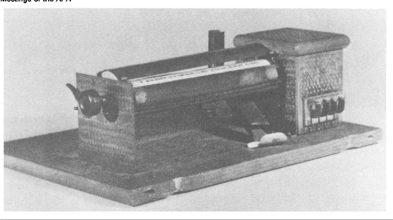 Máquina de ensinar de Pressey