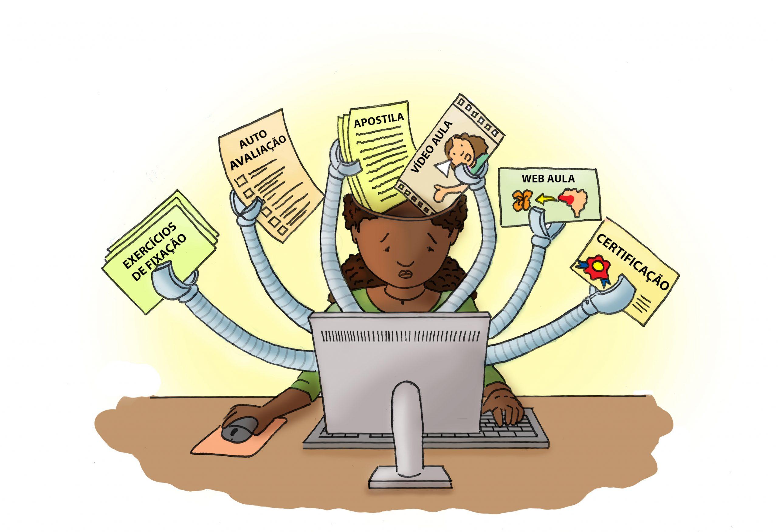 Instrução (re)programada, máquinas (digitais em rede) de ensinar e a pedagogia (ciber)tecnicista