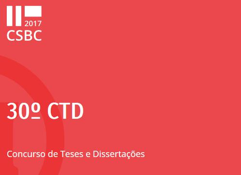 Premiados(as) no 30º CTD do CSBC 2017