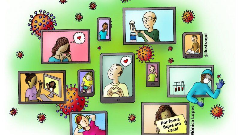 #FiqueEmCasa, mas se mantenha ensinando-aprendendo: algumas questões educacionais em tempos de pandemia