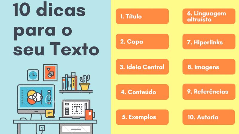 Escreva para a Horizontes: 10 dicas para o seu texto!