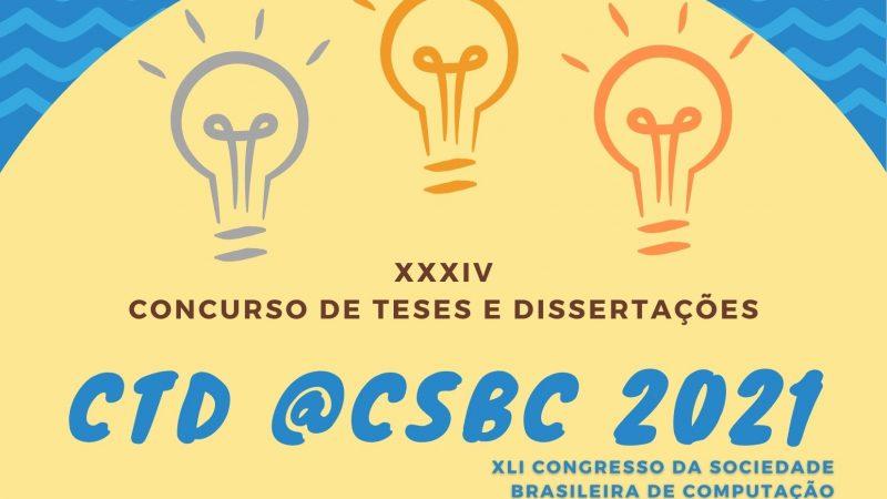 Confira as Melhores Teses e Dissertações do CTD @CSBC 2021